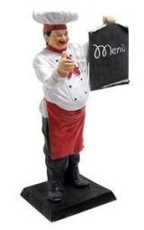 Figuras tridimensionales para la gastronomía.