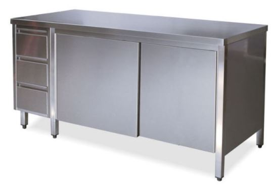 Tables with doors Left drawers