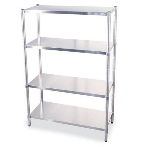 Stainless steel shelves 200 cm