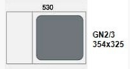 GN2/3:354x325 mm