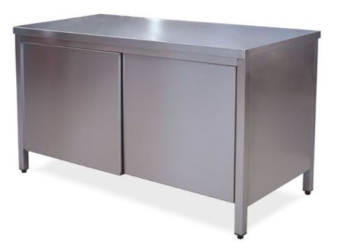 Tables Cabinets with doors on one side
