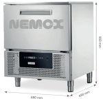 Abatidores y congeladores NEMOX compacto