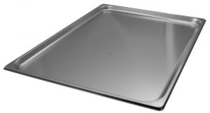 VGGST2/1H20 Steel Gastronorm Container 2 / 1 650x530 x H20 mm