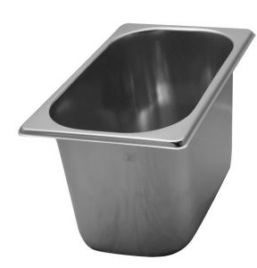 VG261615 stainless steel ice cream container 260x160x h150 mm
