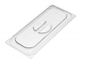 VGCV08 Transparent polycarbonate lid dim. 260x160 mm
