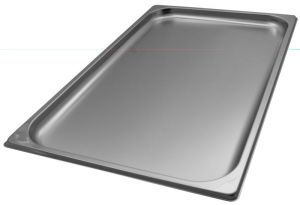 GST1/1P020 Gastronorm Container 1 / 1 h20 mm stainless steel AISI 304