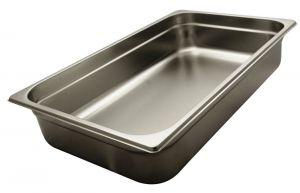 GST1/1P100 Gastronorm Container 1 / 1 h100 mm Stainless steel AISI 304