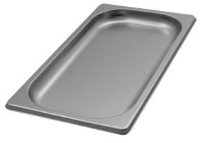 GST1/3P020 Récipient Gastronorm 1 / 3 h20 en acier inox AISI 304