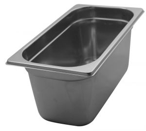 GST1/3P150 Gastronorm Container 1 / 3 h150 stainless steel AISI 304