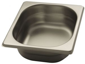 GST1/6P065 Gastronorm Container 1 / 6 h65 stainless steel AISI 304