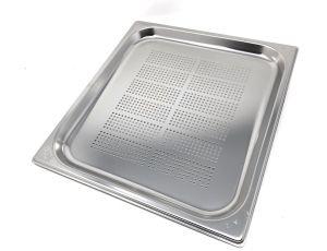 GST1/1P020F Contenitore Gastronorm 1/1 h20 forato in acciaio inox AISI 304