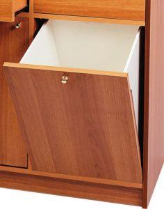 A250W Applicazione tramoggia per mobili WENGE'