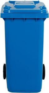 AV4675 Blue Garbage bin 2 wheels 100 liters