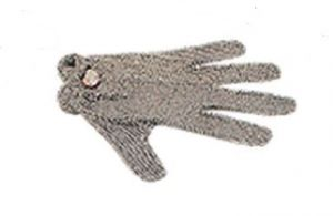AV4900 Guante de prevención de accidentes de acero inoxidable con cinco dedos