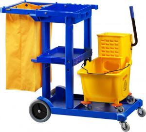 CA1606E Cleaning Cart 2 carts in one