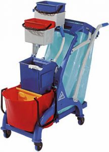 CA1613 Cleaning Cart Professional 107x56x111h