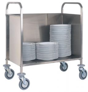 CP1441 Carrello portapiatti per piatti impilati capacità 200 piatti