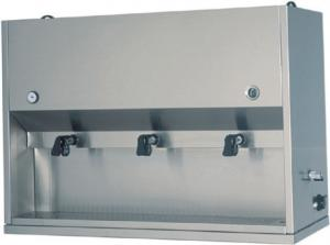 DC1704 Breakfast distributor table appliance Table 2 tanks 15 liters 75x41x71h