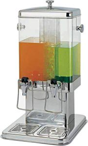 DS10402 Double drink dispenser 5+5 liters