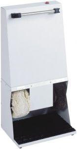 LU4131 Macchina pulisciscarpe bianca 42x30x83h