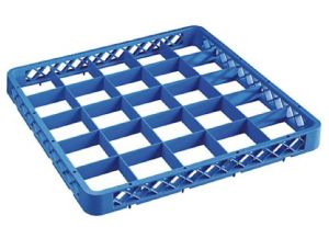 RIA25 Elévation 25 compartiments pour panier lave-vaisselle 50x50 h4,5 bleue