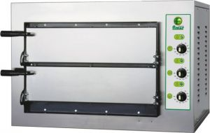 MINIT 2-chamber electric oven 50x50x11h Three-phase