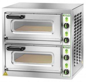 MICROV2CT Forno micro pizzeria 2 camere 40x40x11