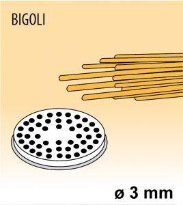 MPFTBI25 Filière en alliage laiton bronze BIGOLI pour machine a pate
