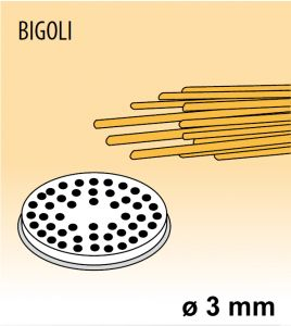MPFTBI4 Extrusor de aleación latón bronce BIGOLI para maquina para pasta fresca