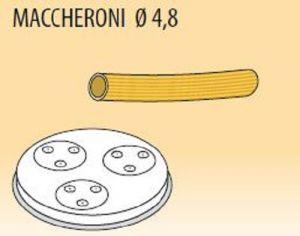 MPFTMA4-25  Filière en alliage laiton bronze MACCHERONI Ø  4,8 pour machine a pate