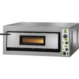 FMD4T Four électrique pizza numérique 6 kW 1 pièce 72x72x14h cm - Trois phase