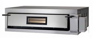 FMD6T Four électrique pizza numérique 9 kW 1 pièce 72x108x14h cm - Trois phase