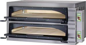 FMDW66T Four électrique pizza numérique 18kW chambre double 108x72x14h cm - Trois phase