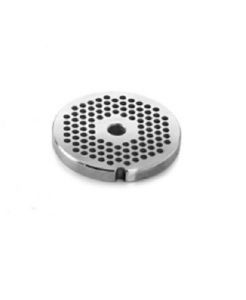 PU22  Stainless steel unger plate 2-2.5 mm holes for meat mincer Fimar series 22