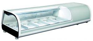 RTS52B Vetrina refrigerata per sushi, statica da tavolo con illuminazione led