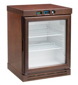 KL2793N Cantinetta per vini a refrigerazione statica - capacità  310 lt -  Colore noce
