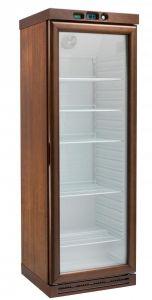 KL2791FW Cantinetta per vini a refrigerazione statica, capacità  310 lt,  congelatore - WENGE'