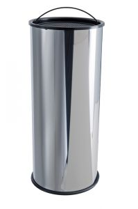 T775000 Stainless steel column Ashtray with sand