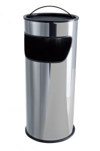 T775010 Stainless steel Ashbin 25 liters with sand