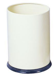 T103030 Corbeille à papier Métal blanc 12 litres