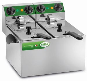 MFR240 - SR LITRI 4 + 4 Double Fryer