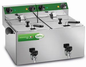 MFR280R - Double LITRI 8 + 8 CR Fryer