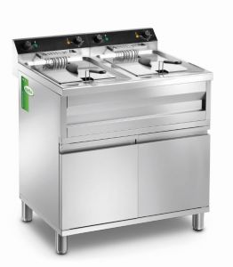 MFR212M - Double SR LITRI 12 + 12 Fryer with FURNITURE