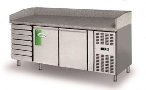 FBR2610TN  - Banco pizza refrigerato  - Lt 580-  Senza vetrinetta
