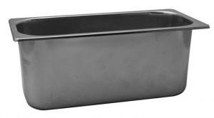 VG422025 Bac à glace en acier inoxydable 420x200x h250 mm