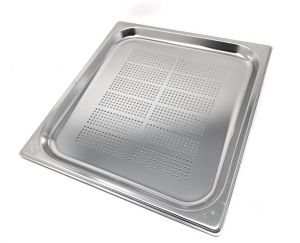 GST2/3P020F Gastronorm Container 2 / 3 h20 perforated stainless steel AISI 304