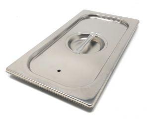 CPR1/3T Coperchio 1/3 in acciaio inox AISI 304 con guarnizione a tenuta