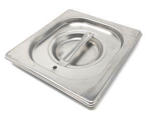 CPR1/6T cubrir 1 / 6 en acero inoxidable AISI 304 con junta de estanqueidad