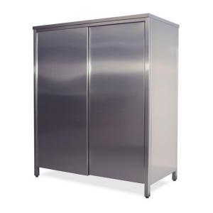 AN6001 gabinete neutro de acero inoxidable con puertas correderas