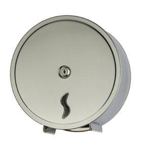 T105001 Distributeur papier hygienique 200 mt inox brill. AISI 430